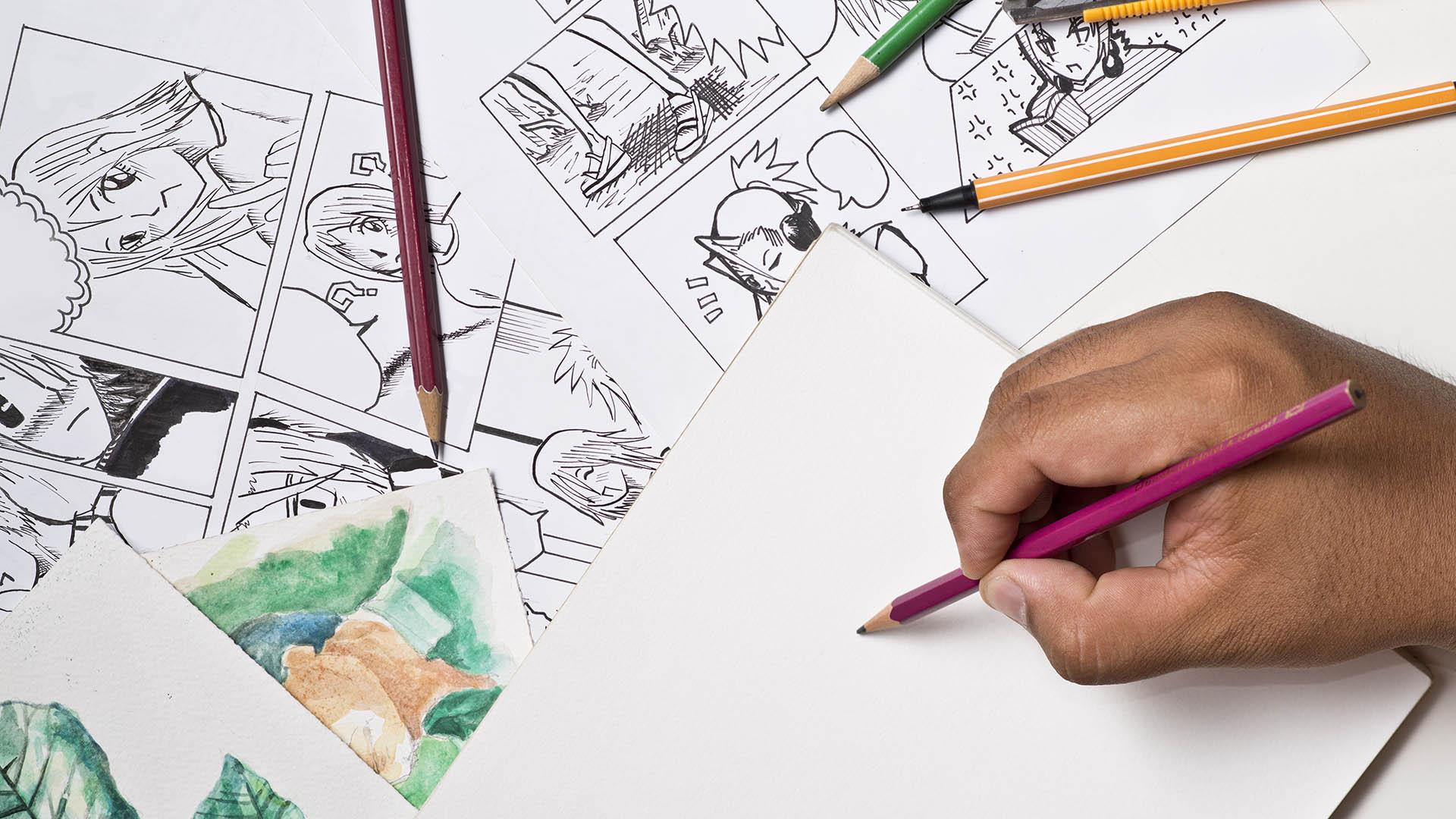 Sarjakuva ja digitaalinen kuvittaminen 3